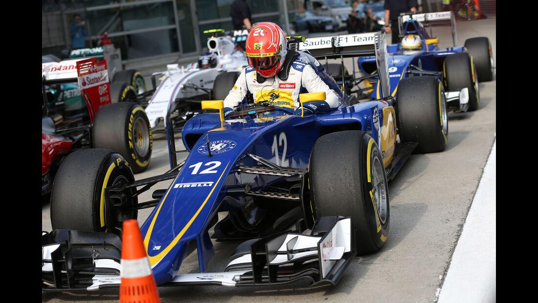 Felipe Nasr - GP China 2015