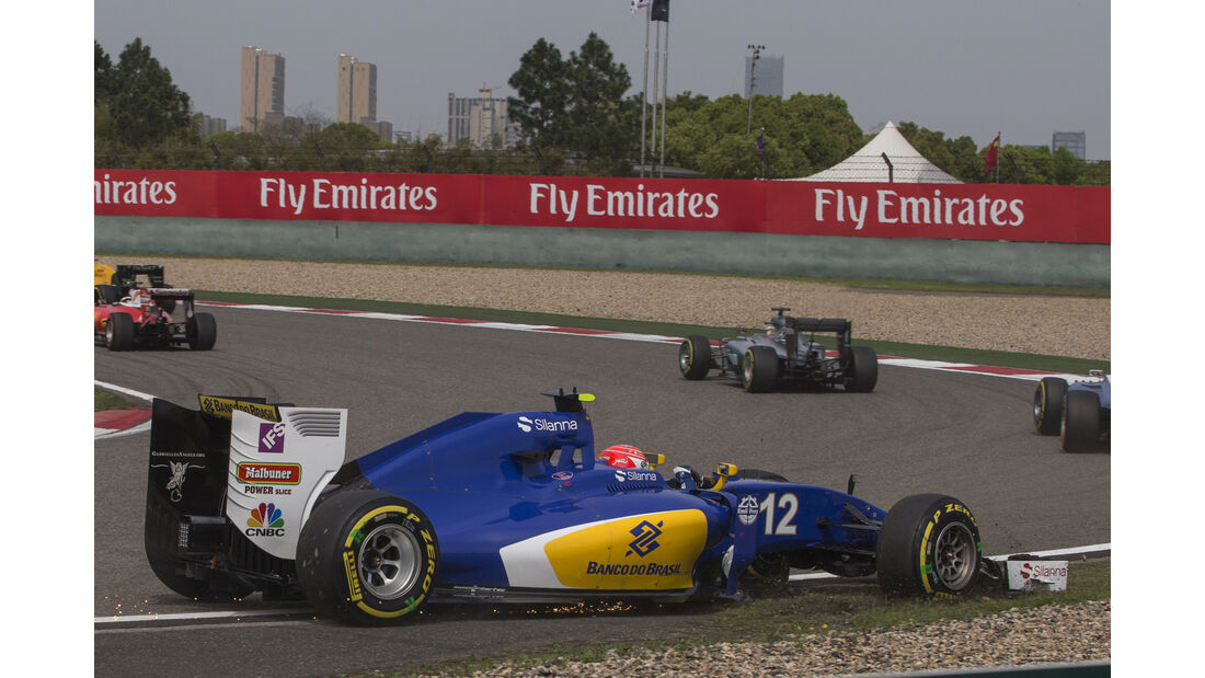Felipe Nasr - GP China 2016