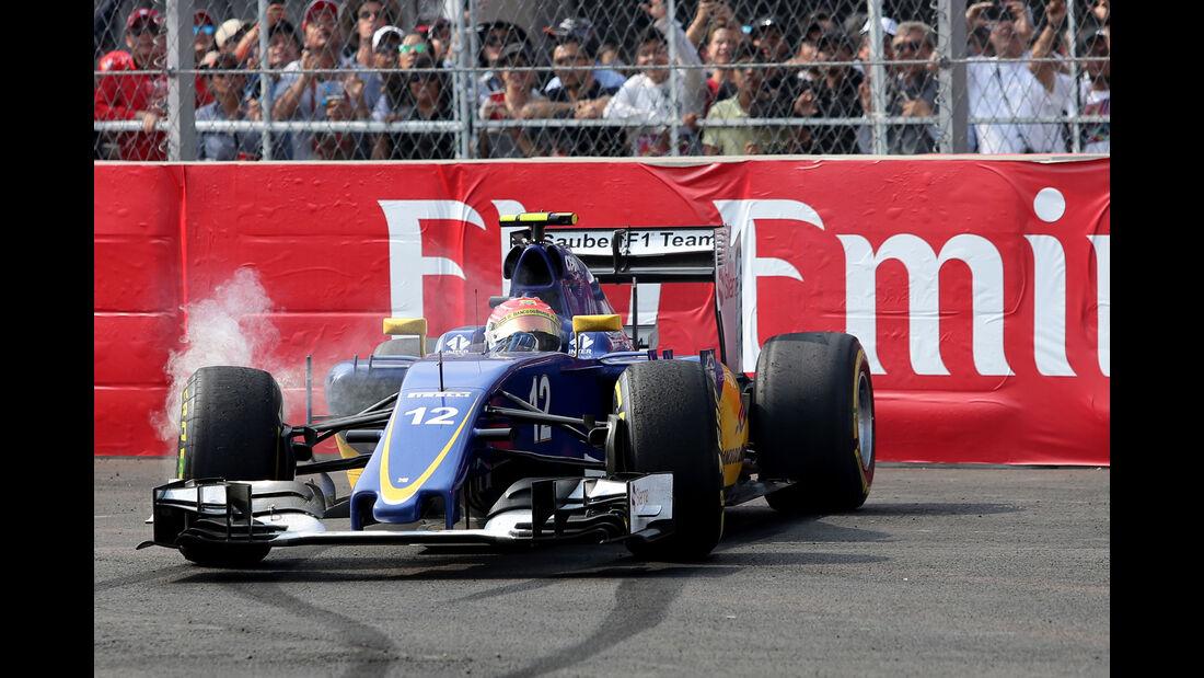 Felipe Nasr - GP Mexiko 2015
