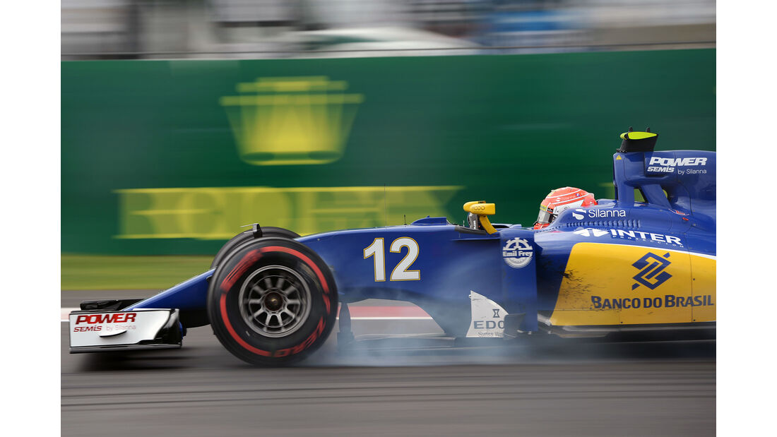 Felipe Nasr - GP Mexiko 2016