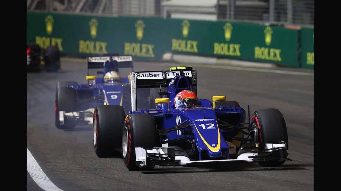 Felipe Nasr - GP Singapur 2015