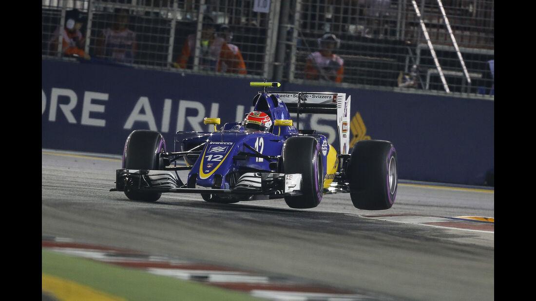 Felipe Nasr - GP Singapur 2016