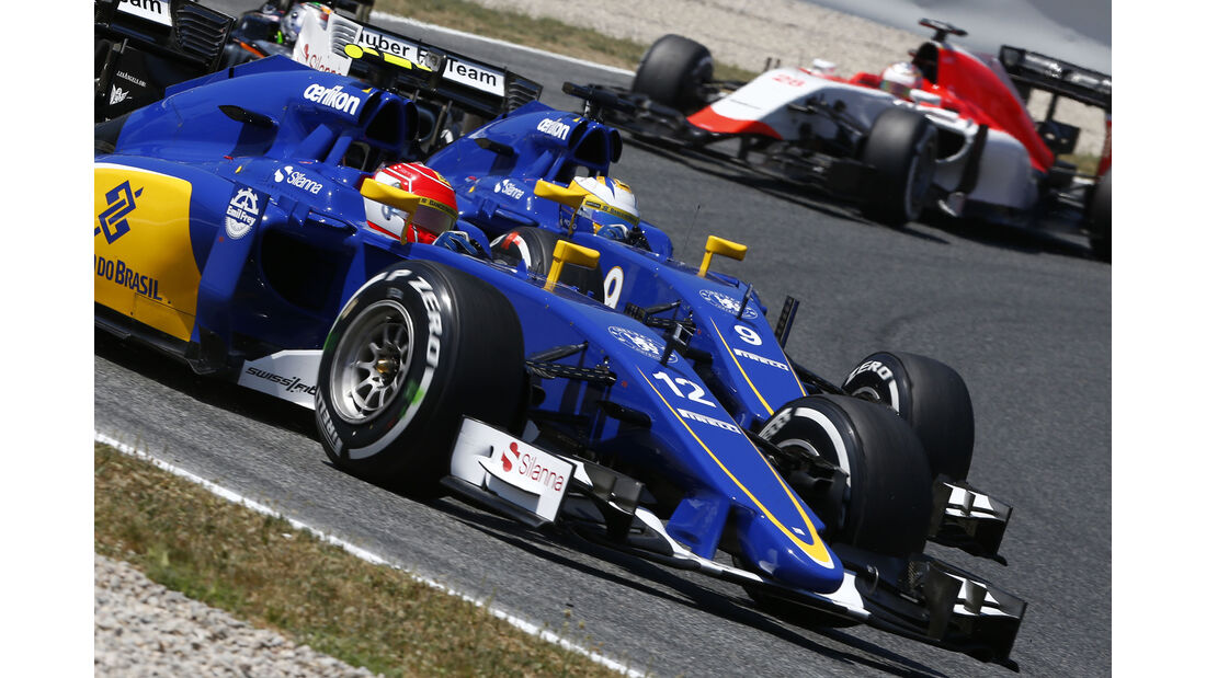 Felipe Nasr - GP Spanien 2015