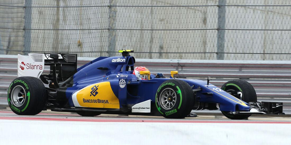 Felipe Nasr - GP USA 2015