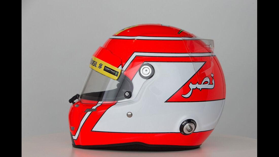 Felipe Nasr Helm 2015
