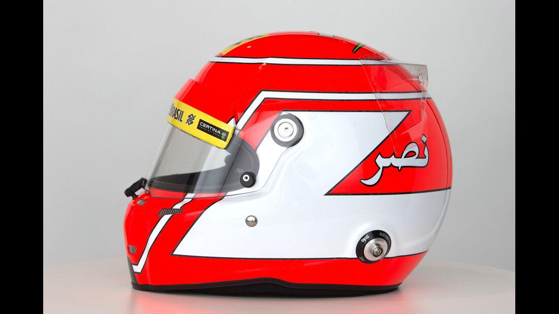 Felipe Nasr - Helm  - Formel 1 - 2015