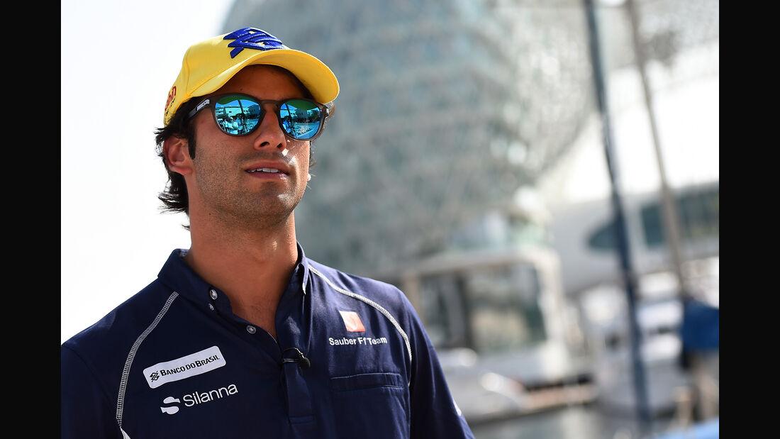 Felipe Nasr - Sauber - Formel 1 - GP Abu Dhabi - 24. November 2016