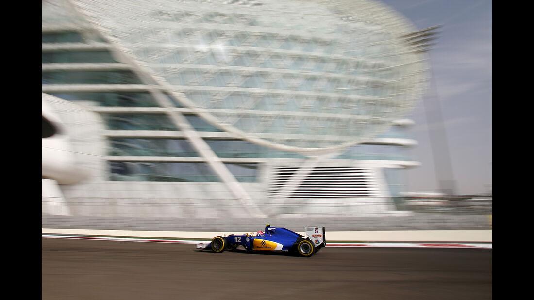 Felipe Nasr - Sauber - Formel 1 - GP Abu Dhabi - 25. November 2016