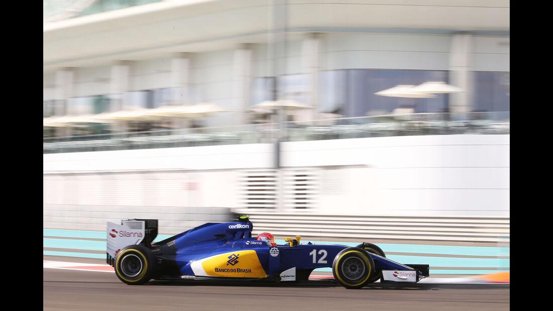Felipe Nasr - Sauber - Formel 1 - GP Abu Dhabi - 27. November 2015