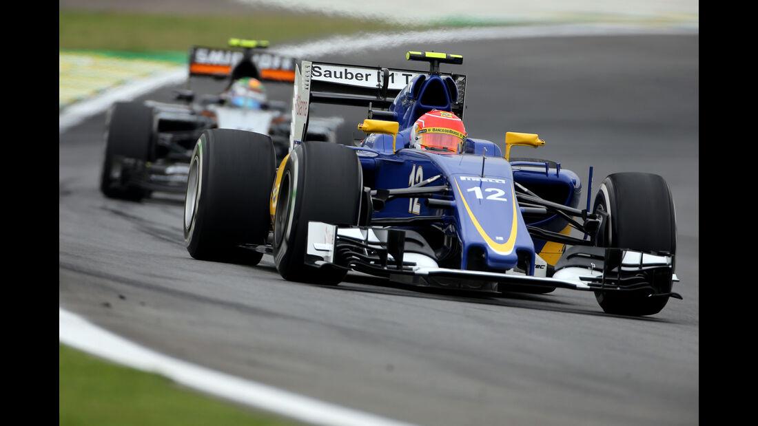 Felipe Nasr - Sauber - Formel 1 - GP Brasilien- 13. November 2015