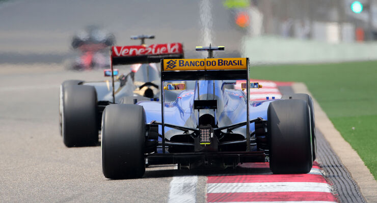 Felipe Nasr - Sauber - Formel 1 - GP China - Shanghai - 10. April 2015