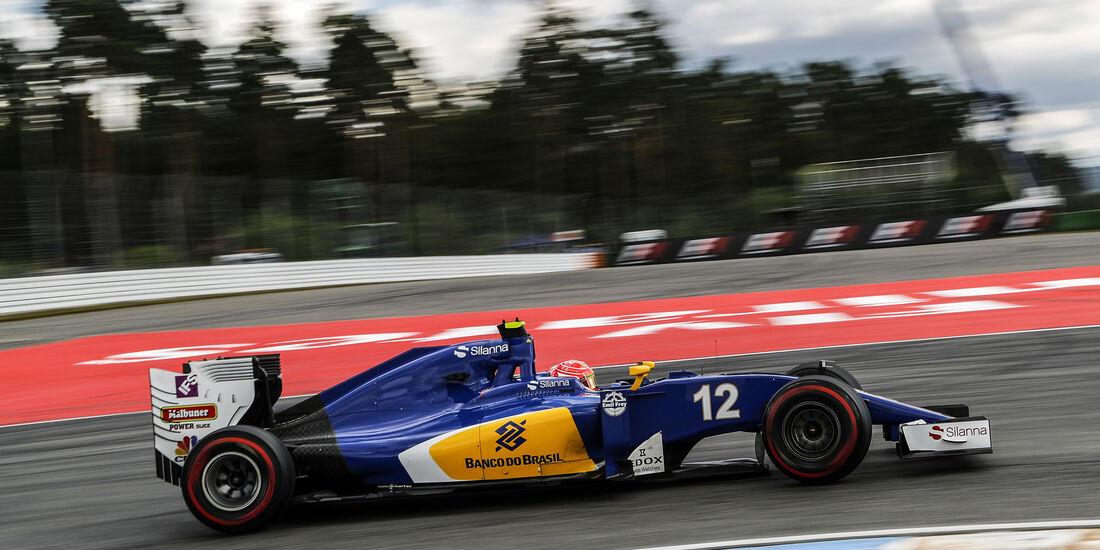 Felipe Nasr - Sauber  - Formel 1 - GP Deutschland - 30. Juli 2016