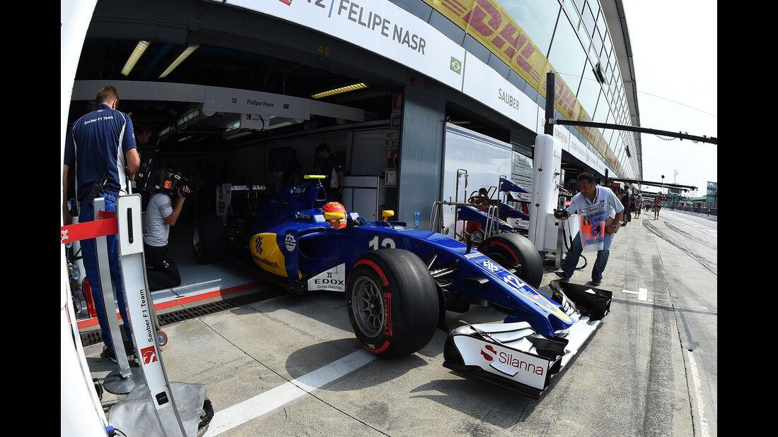 Felipe Nasr - Sauber - Formel 1 - GP Italien - Monza - 2. September 2016