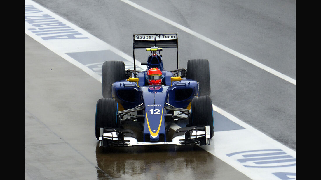 Felipe Nasr - Sauber - Formel 1 - GP Japan - Suzuka - 25. September 2015