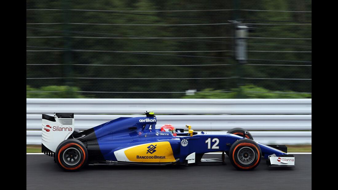 Felipe Nasr - Sauber - Formel 1 - GP Japan - Suzuka - 26. September 2015