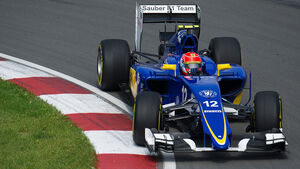 Felipe Nasr - Sauber - Formel 1 - GP Kanada - Montreal - 5. Juni 2015