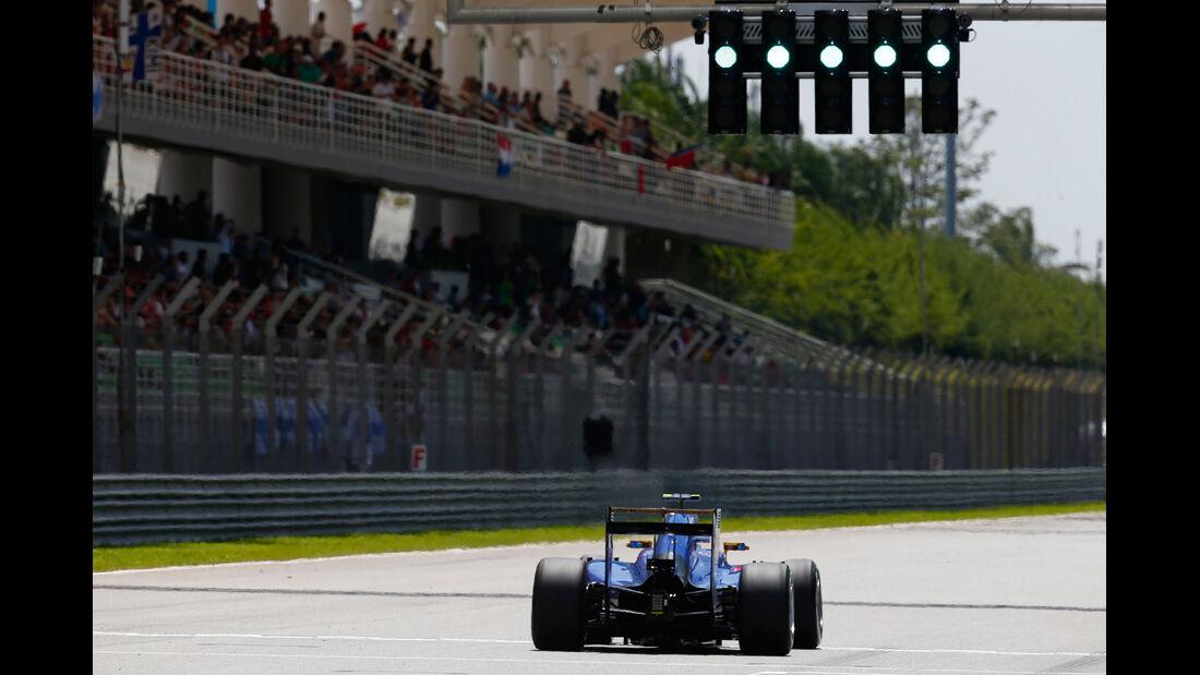 Felipe Nasr - Sauber - Formel 1 - GP Malaysia - 28. März 2015