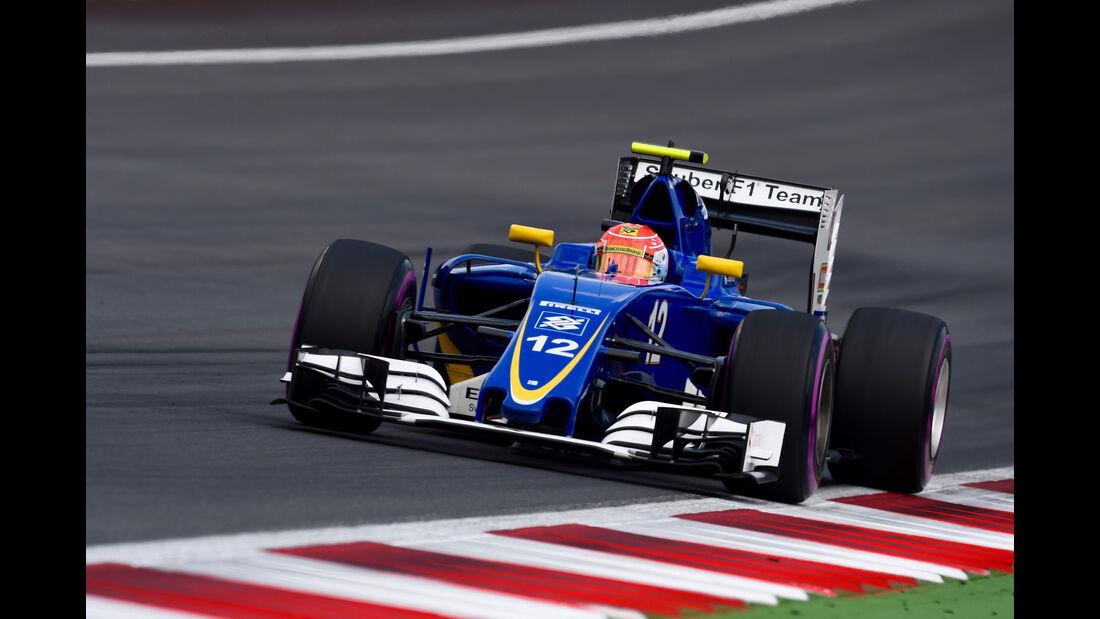 Felipe Nasr - Sauber - Formel 1 - GP Österreich - 2. Juli 2016