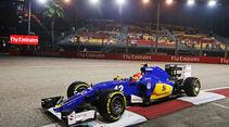 Felipe Nasr - Sauber - Formel 1 - GP Singapur - 18. September 2015