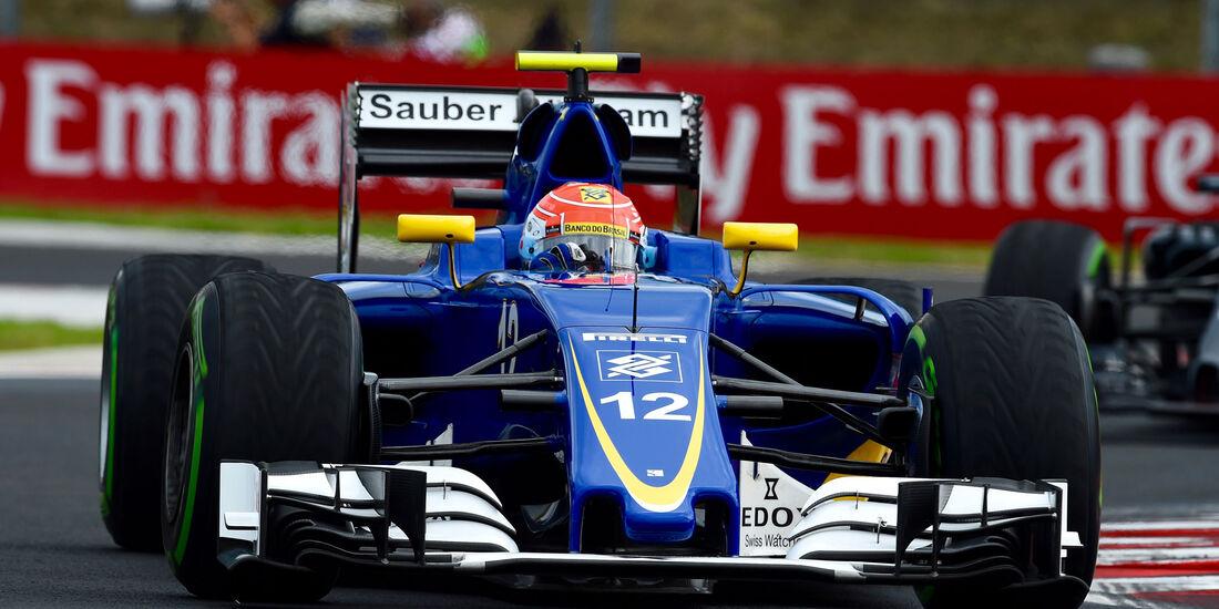 Felipe Nasr - Sauber- Formel 1 - GP Ungarn - 22. Juli 2016