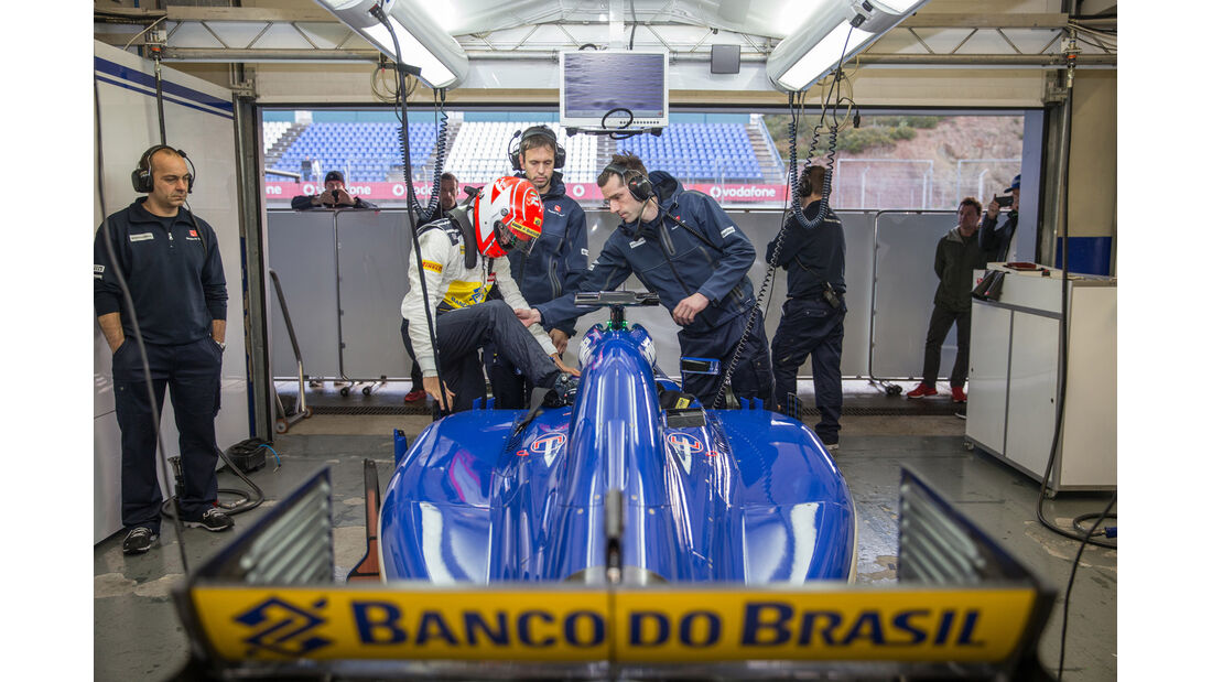 Felipe Nasr - Sauber - Formel 1 - Jerez - 2015
