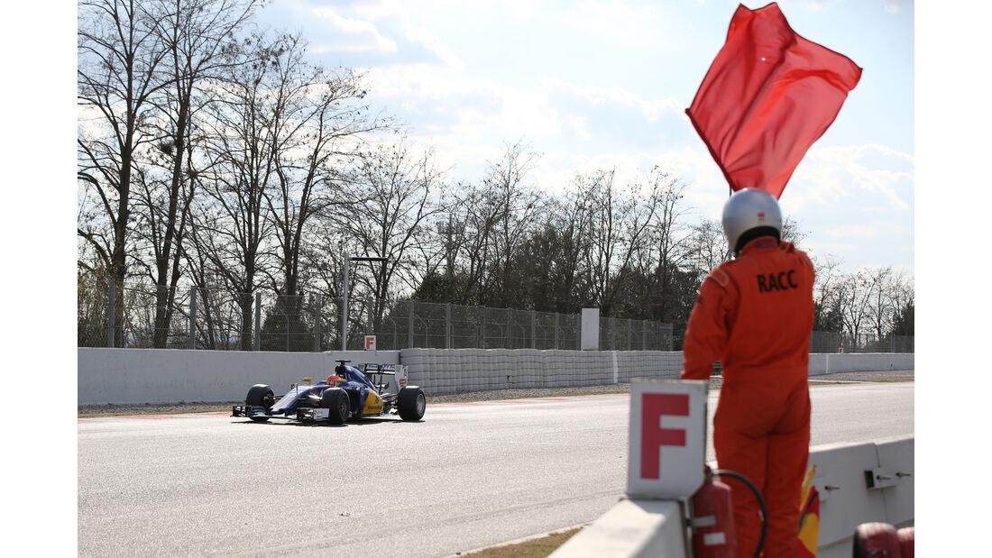 Felipe Nasr - Sauber - Formel 1-Test - Barcelona - 25. Februar 2016