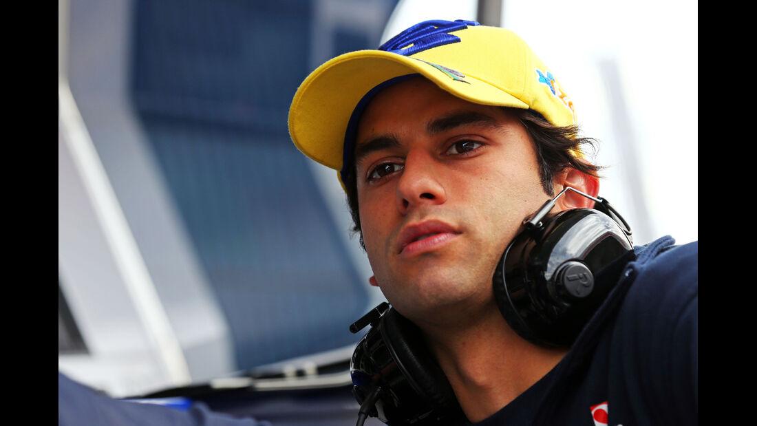 Felipe Nasr - Sauber  Formel 1-Test - Barcelona - 26. Februar 2015