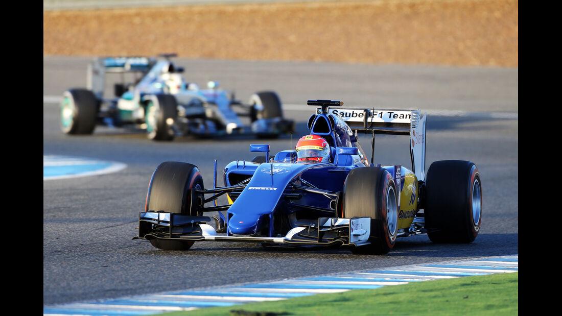 Felipe Nasr - Sauber - Formel 1-Test - Jerez - 2. Februar 2015
