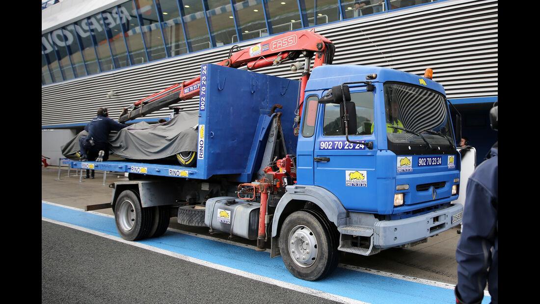 Felipe Nasr - Sauber - Formel 1-Test - Jerez - 3. Februar 2015