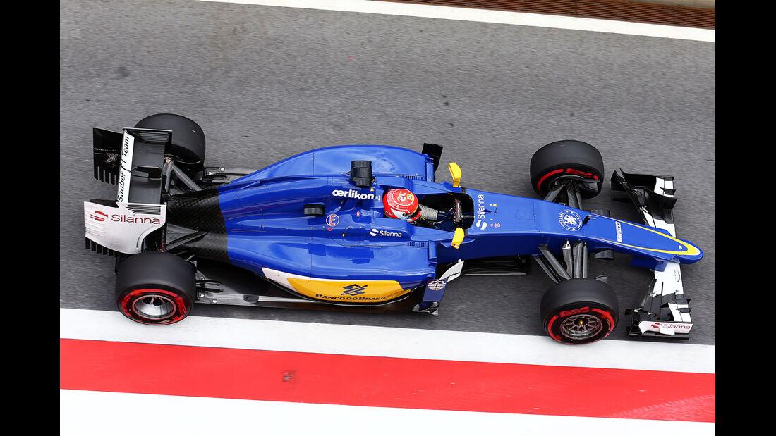 Felipe Nasr - Sauber - Formel 1-Test - Spielberg - 24. Juni 2015