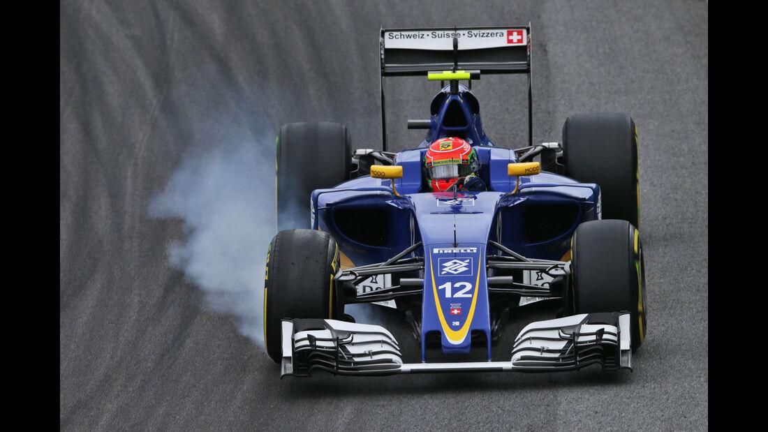 Felipe Nasr - Sauber - GP Brasilien 2016 - Interlagos - Qualifying