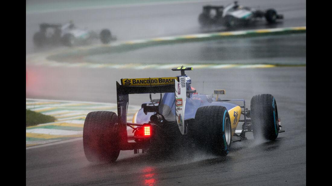 Felipe Nasr - Sauber - GP Brasilien 2016 - Interlagos - Rennen