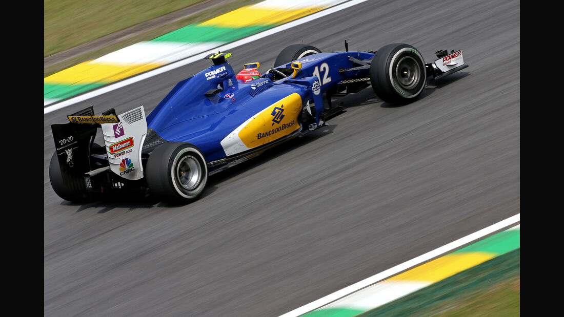Felipe Nasr - Sauber - GP Brasilien - Interlagos - Freitag - 11.11.2016