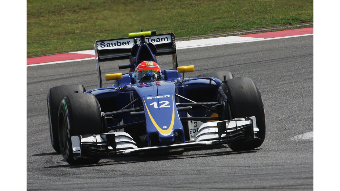 Felipe Nasr - Sauber - GP China - Shanghai - Freitag - 15.04.2016