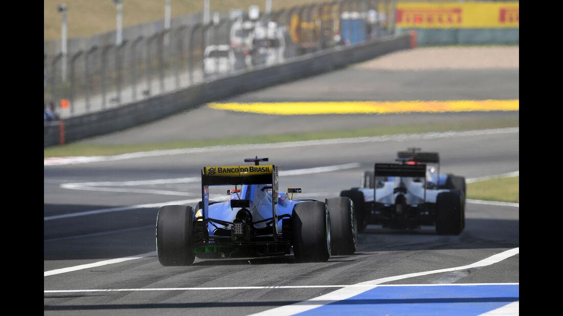 Felipe Nasr - Sauber - GP China - Shanghai - Freitag - 15.4.2016