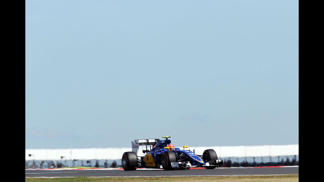 Felipe Nasr - Sauber - GP England - Silverstone - Freitag - 3.7.2015