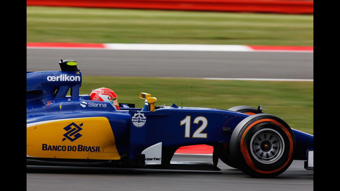Felipe Nasr - Sauber - GP England - Silverstone - Qualifying - Samstag - 4.7.2015