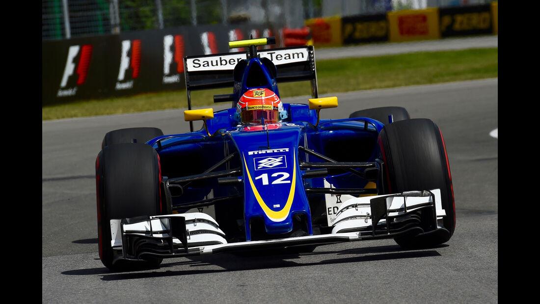 Felipe Nasr - Sauber - GP Kanada - Montreal - Freitag - 10.6.2016