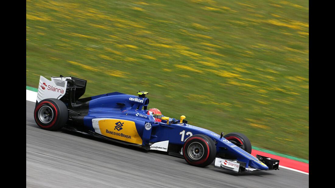 Felipe Nasr - Sauber - GP Österreich - Formel 1 - Freitag - 19.6.2015
