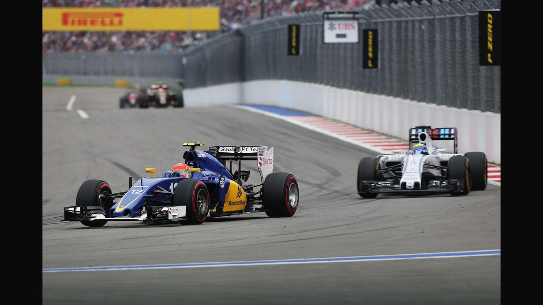 Felipe Nasr - Sauber - GP Russland 2015 - Sochi - Rennen
