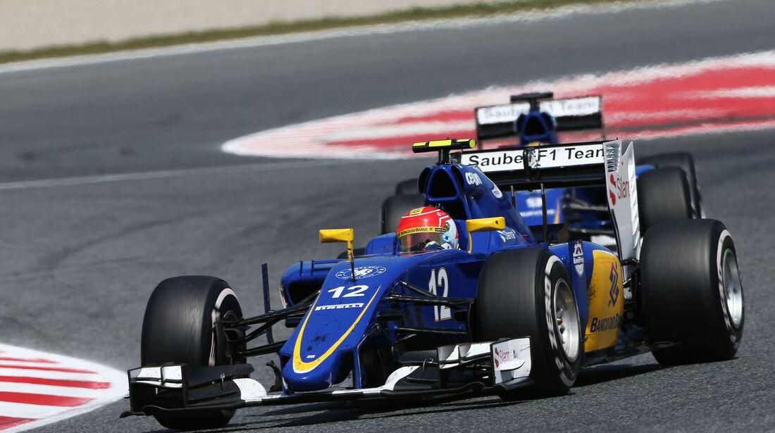 Felipe Nasr - Sauber - GP Spanien 2015 - Rennen - Sonntag - 10.5.2015