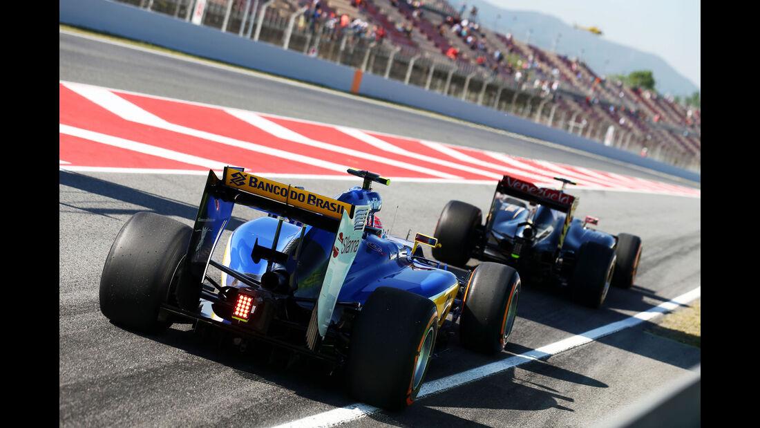 Felipe Nasr - Sauber - GP Spanien - Barcelona - Freitag - 8.5.2015