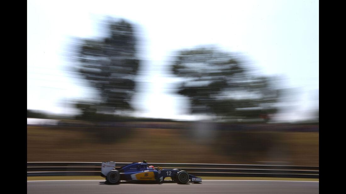Felipe Nasr - Sauber - GP Ungarn - Budapest - Freitag - 24.7.2015