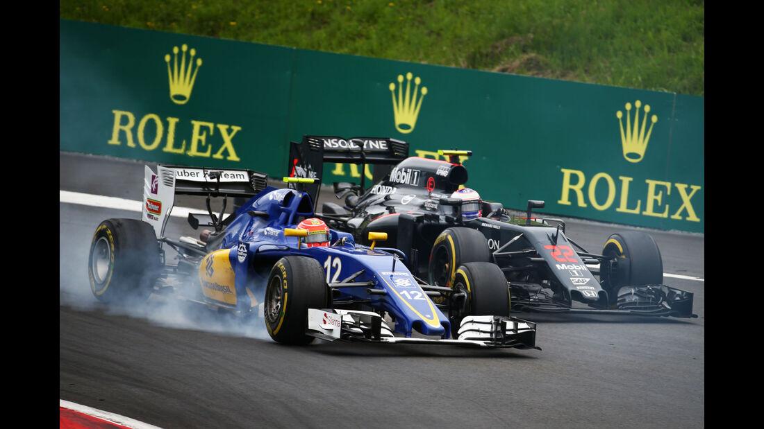 Felipe Nasr - Sauber - Jenson Button - McLaren - Formel 1 - GP Österreich - 3. Juli 2016