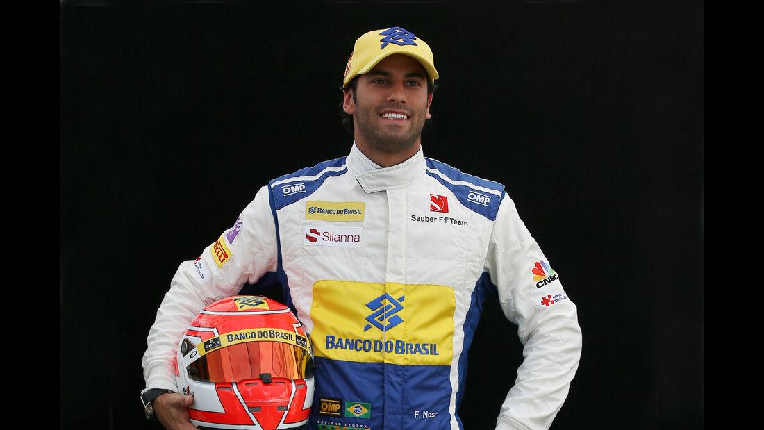 Felipe Nasr - Sauber - Porträt - Formel 1 - 2016