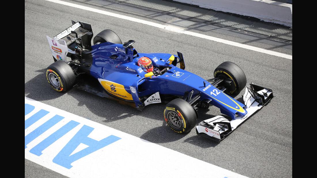 Felipe Nasr - Saubere - Formel 1-Test - Barcelona - 3. März 2016