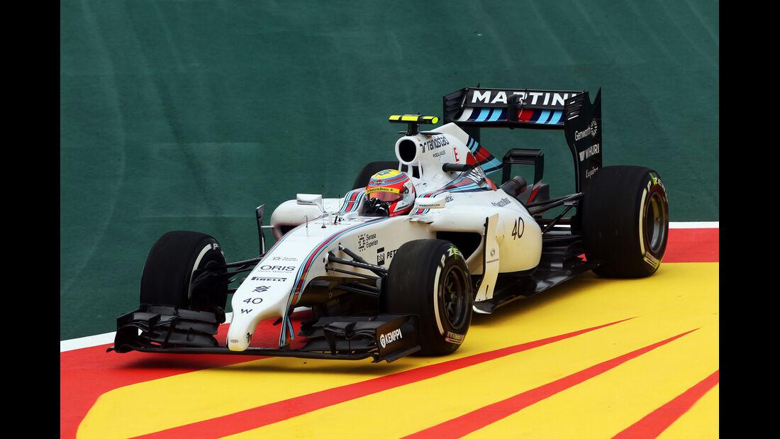 Felipe Nasr - Williams - Formel 1 - GP Brasilien - Sao Paulo - 7. November 2014