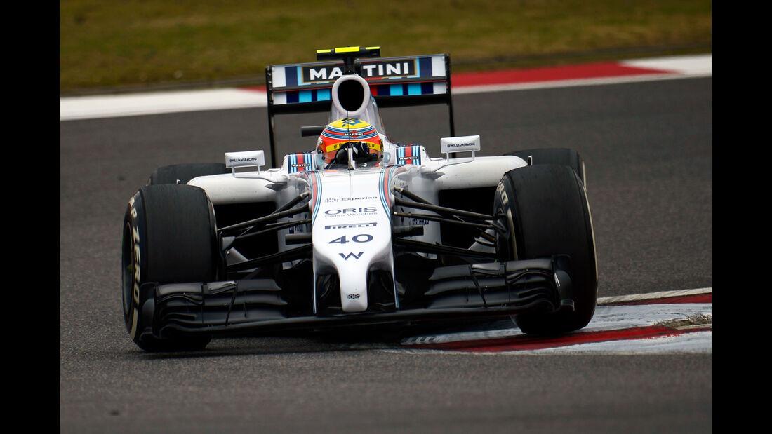 Felipe Nasr - Williams - Formel 1 - GP China - Shanghai - 18. April 2014