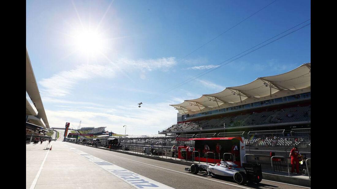 Felipe Nasr - Williams - Formel 1 - GP USA - 31. Oktober 2014