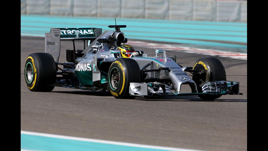 Felipe Nasr - Williams - Formel 1 - Test - Abu Dhabi - 26. November 2014